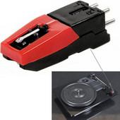 Stereo stylus Needle for Vinyl LP USB Turntable Turnplate(Black) SK361191