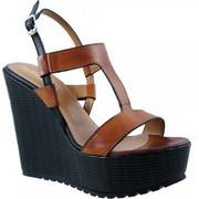 Γυναικεία Πλατφόρμα Makis Shoes 1326 Ταμπά 1326-gs1006