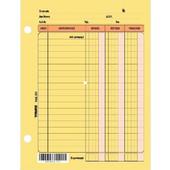 Καρτέλες Χρεωπιστωτών Τσέπης 12 Χ 15cm Υπόδειγμα 3 - 253