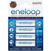 Sanyo Eneloop 1x4 AA 1900 mAh