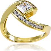 Δαχτυλίδι Κ14 με Ζιργκόν, 003103