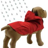 Αδιάβροχο ρούχο σκύλου της Yagu σε κόκκινο χρώμα Yagu