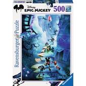 Ravensburger Παζλ - Disney Epic Mickey: Η Σκάλα (500 κομμ.) - 14240 Toys