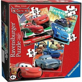 Ravensburger Παζλ - Disney Pixar Cars 3 σε 1 (25, 49, 36 κομμ.) - 07258 Toys