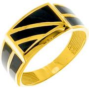 Χρυσό ανδρικό δαχτυλίδι Κ14 με όνυχα