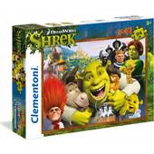 Clementoni Παζλ 24τμχ MAXI Super Color Shrek 1200-24046