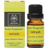 Apivita Refresh - Μίγμα αιθέριων ελαίων από περγαμόντο, λεμόνι, γκρέιπφρουτ