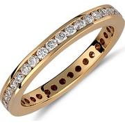 Δαχτυλίδι από χρυσό 18 καρατίων με διαμάντια 0.78ct συνολικά. TH01869