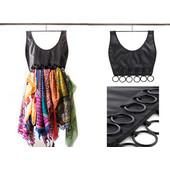 Κρεμαστή Θήκη - Φόρεμα Για Φουλάρια - OEM Little Black Dress Scarf Organiser - OEM - 001.4234