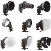 Falcon Eyes Universal Speedlite Flash Gun Strobist Set SGA-K9