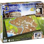 National Geographic Puzzle 4D Ancient Rome Αρχαία Ρώμη 61004