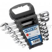 Expert Tools - Set με 7 γερμανοπολύγωνα Καστάνιας σε βάση E111107