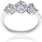Δαχτυλίδι Κ18 με Διαμάντια, 003503
