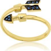 Δαχτυλίδι Κίτρινο Χρυσό 14 Καρατίων Κ14 με Πέτρες Τυρκουάζ, 030313