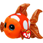 Λούτρινο Ψάρι Πορτοκαλί 15cm