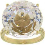 Δαχτυλίδι Vogue Diana χρυσό ασήμι 925 με ζιργκόν 18 χιλιοστά