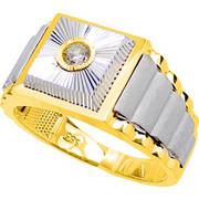 Χρυσό ανδρικό δαχτυλίδι Κ14
