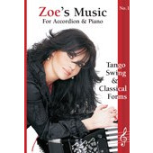 Zoes music for accordion & piano Νο. 1