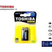 Μπαταρία Αλκαλική TOSHIBA 9V (Συσκετασία 1 Τεμαχίου)