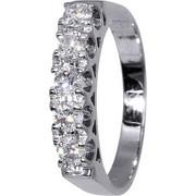 Δαχτυλίδι Λευκόχρυσο Με Διαμάντια 017147 Χρυσός 18 Καράτια