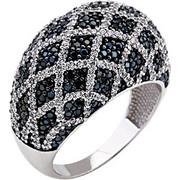 Λευκόχρυσο δαχτυλίδι fashion Κ14 με ζιργκόν