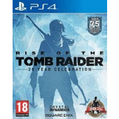 Rise of The Tomb Raider 20 Year Celebration Standard Edition PS4