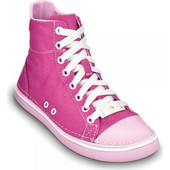 Crocs - Hover snk Girls hi tp Metallic Fuchsia-Bubblegum