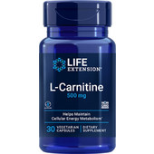 Life Extension L-Carnitine 500mg 30s