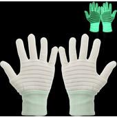 High Quality Non-woven Luminous Glove(White) SK236098