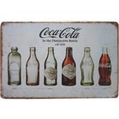 Μεταλλική Διακοσμητική Πινακίδα Μπουκάλια Coca-Cola! - OEM - 001.4735