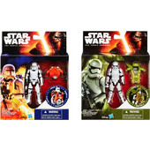 STAR WARS E7 ARMOR PACK FIGURE ASST B3886