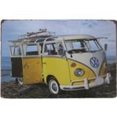 Μεταλλική Διακοσμητική Πινακίδα Mini Bus! - OEM - 001.4734