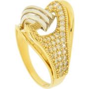 Χρυσό δαχτυλίδι Fashion K14 με ζιργκόν