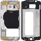 iPartsBuy Full Housing Cover(Front Housing LCD Frame Bezel Plate + Back Plate Housing Camera Lens Panel) for Samsung Galaxy S6 / G920(White) (iPartsBuy) SK429733