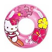 Κουλούρα Φουσκωτή Intex Hello Kitty 97cm 58269 (Ηλικία 9+)