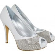 Lou bridal pumps Melita-00-134-98-Νυφικά