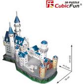 3D Puzzle CubicFun &ampquotΚάστρο Βαυαρίας Neuschwanstein&ampampquot με 98 Κομμάτια