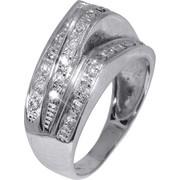 Δαχτυλίδι λευκόχρυσο 009249 009249 Χρυσός 14 Καράτια
