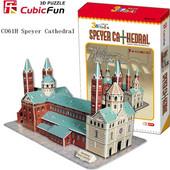3D Puzzle CubicFun &ampquotSpeyer Cathedral&ampampquot με 72 Κομμάτια