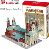 """3D Puzzle CubicFun """"Speyer Cathedral"""" με 72 Κομμάτια"""