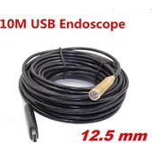 USB ενδοσκοπική κάμερα αδιάβροχη 12, 5mm με καλώδιο 10 μέτρα - Cst EN-10
