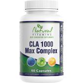 Natural Vitamins CLA 1000 Max Complex 60s
