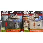 HASBRO STAR WARS E7 MICROMACHINES RC W1 - 2 ΣΧΕΔΙΑ (B3726)