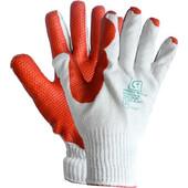 Γάντια εργασίας Βαρέου Τύπου με ύφασμα και παλάμη με επικάλυψη Τραχύ Λατέξ (latex) 1104ELD39 DECOREX