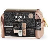 Macrovita Argan Anti-Pollution Fluide Creme 50ml, Hyaluronic beauty elixir 15ml, eye cream 30ml + gift bag