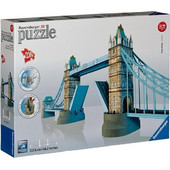 RAVENSBURGER PUZZLE 3D LONDON TOWER BRIDGE BUILDING - MAXI (216PCS) (12559) EAN-017060