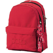Polo Double with Scarf Red 9-01-235-03