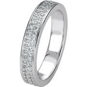 Σειρέ δαχτυλίδι λευκόχρυσο με brilliant - 4703