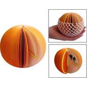Orange Shaped Memo Paper SK42180
