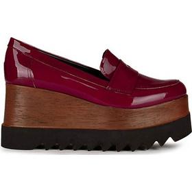 Flatforms γυναικεία Classico Donna Μπορντό 6118 patent 570349efcc2